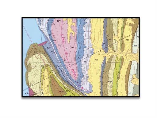 制作一个地质剖面