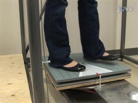 שיטה למדוד טון של שרירים נטיית ציר וסמוך