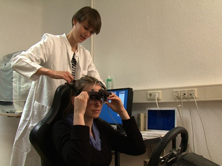 Driving Simulation in the Clinic: Testing Visual Exploratory Behavior in Daily Life Activities in Patients with Visual Field Defects