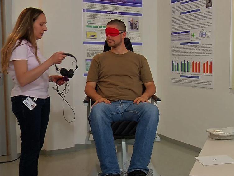 Wie Placebo Antworten in Motion Sickness mit einem Drehstuhl Paradigm in gesunde Teilnehmer studieren