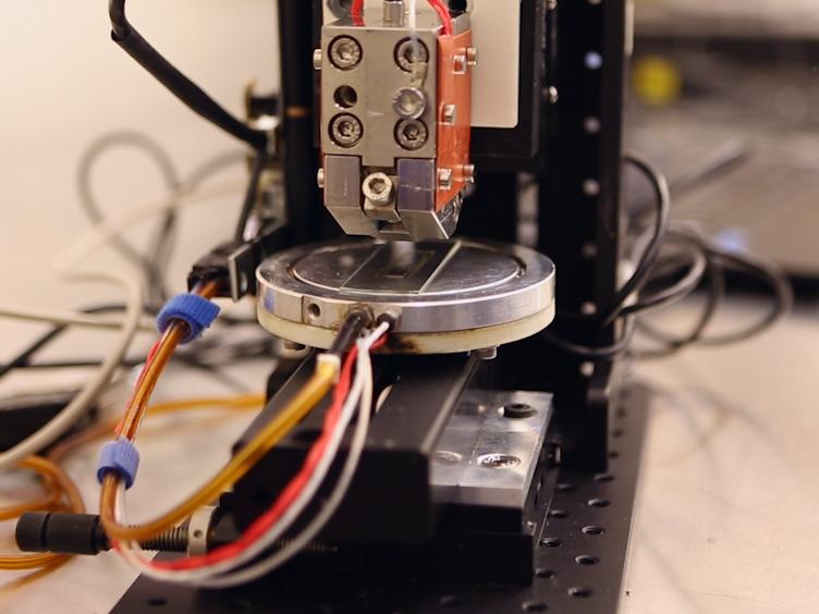 La fabricación de la impresión a granel heterounión células solares y<em&gt; In Situ</em&gt; Morfología Caracterización