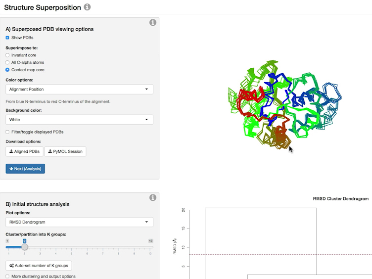 Investigating Protein Sequence-structure-dynamics Relationships with Bio3D-web