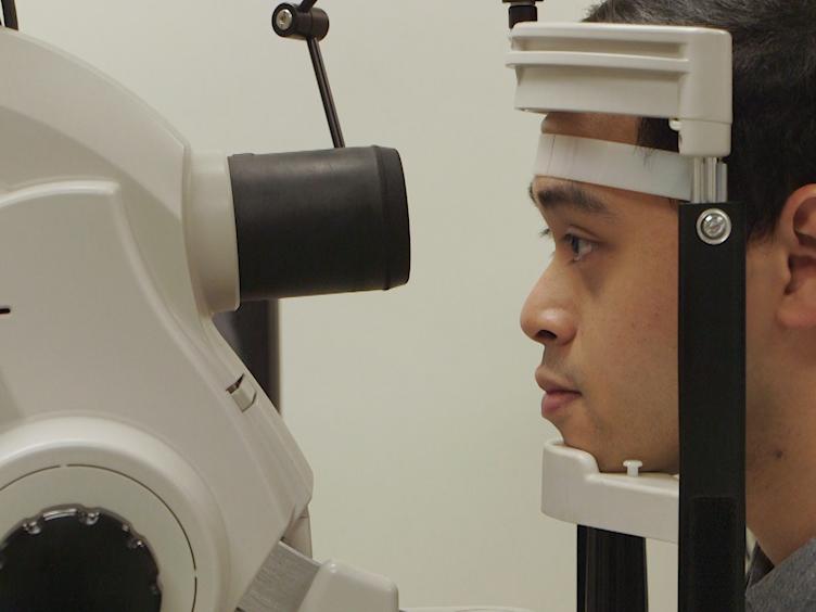 Demans çalışması için retina Imaging'i kullanma