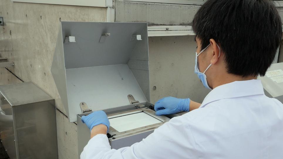 اكتشاف 3-نيتروتيروسيني في بيئة الغلاف الجوي <em>عن طريق</em> عالية أداء نظام سائل الكاشف اللوني الكهروكيميائية