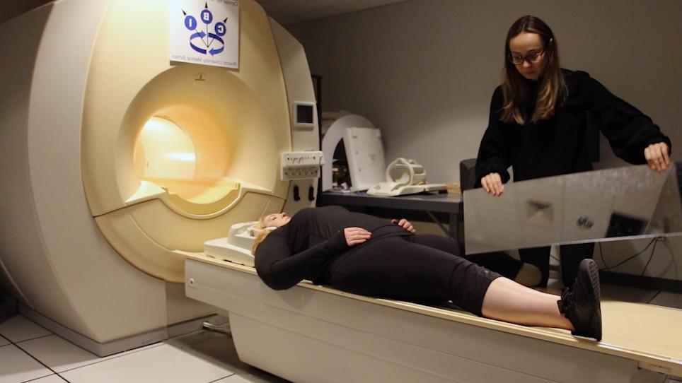 팬텀 사지 통증에 대 한 미러 치료와 관련 된 신경 상관 관계의 특성에 대 한 MRI에서 실시간 비디오 프로젝션