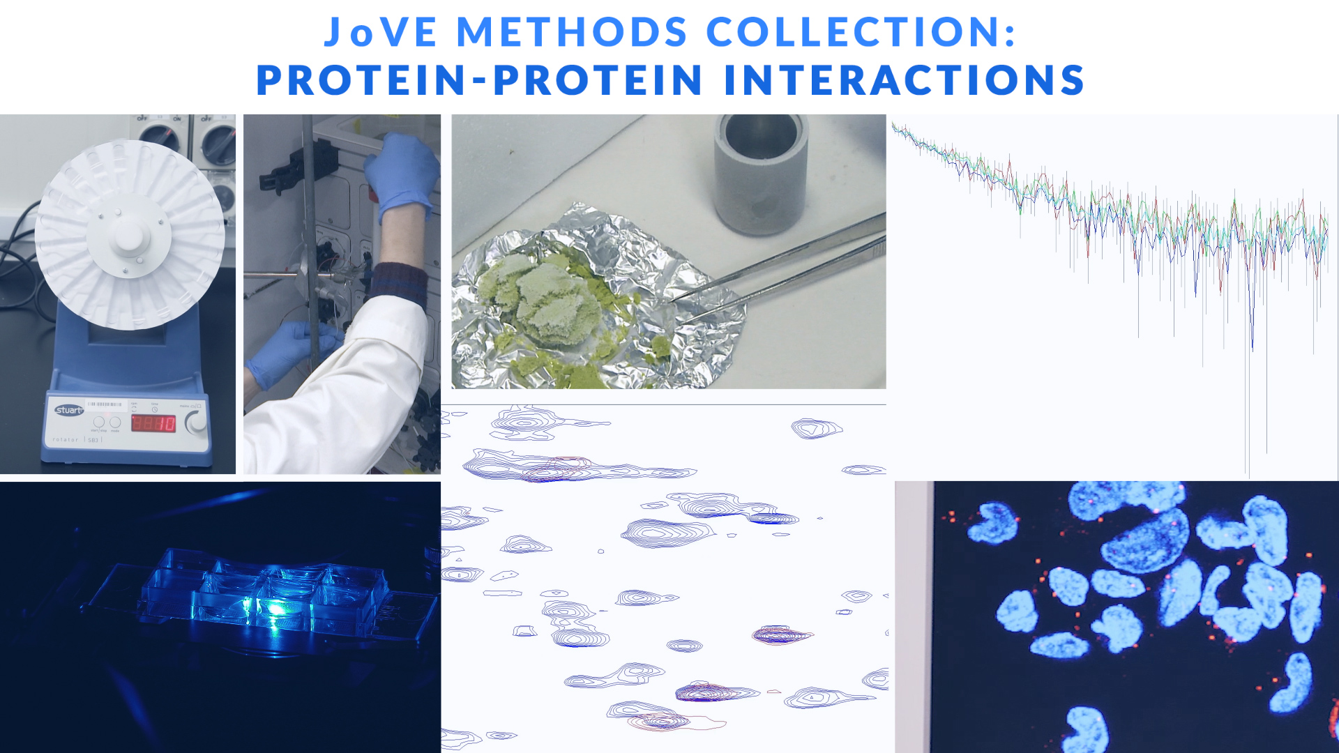 JoVE Methods Collection Highlights: Protein-Protein Interactions