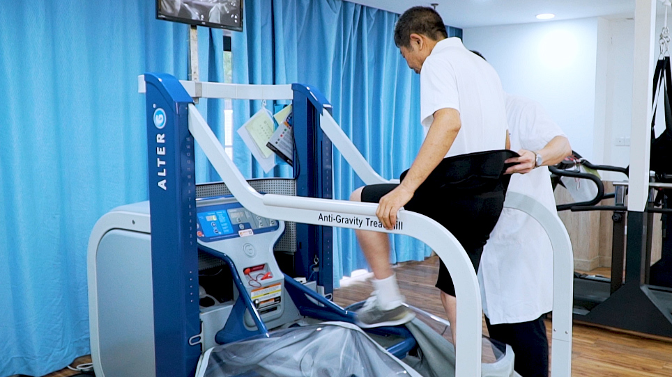 The Lower Body Positive Pressure Treadmill for Knee Osteoarthritis Rehabilitation