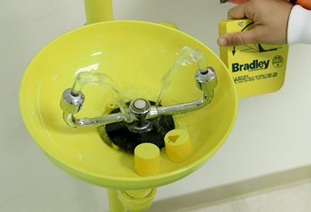 Emergency Eyewash and Shower Stations