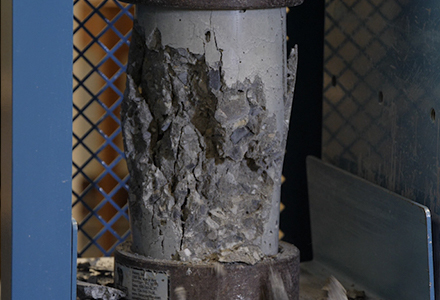Compression Tests on Hardened Concrete