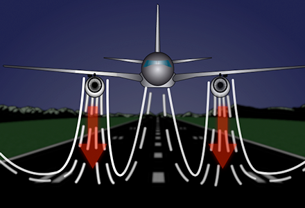 Jet Impinging on an Inclined Plate