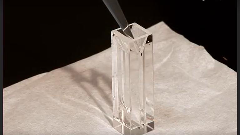 Fototermal Işın Sapmasına tarafından Çözülmüş Proteinler Submillisecond Konformasyonel değişiklikler