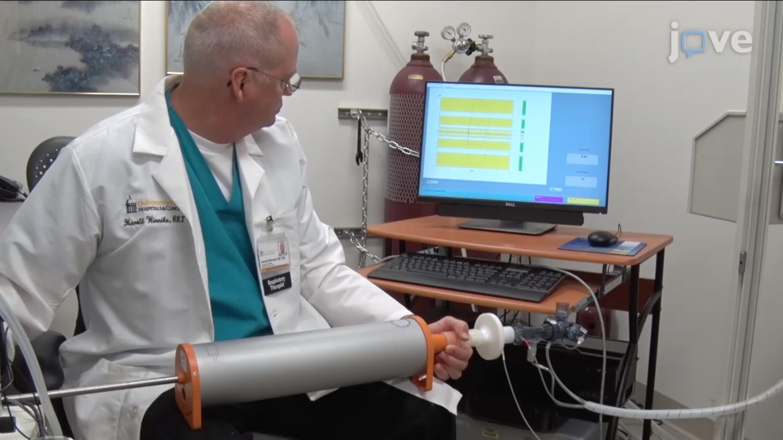 体积摄影与气压面学相结合测量肺结构-功能关系
