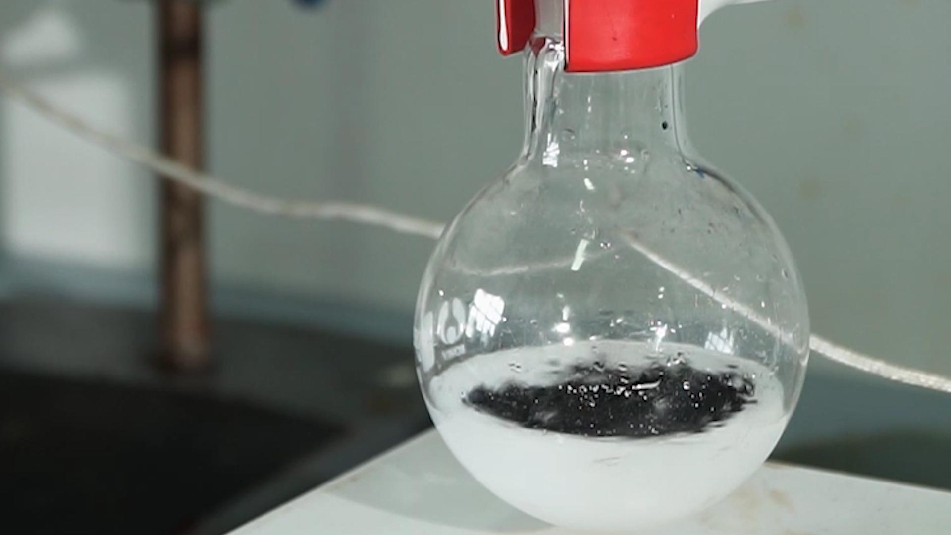 ضبط حموضة محفزات Pt/CNTs للإثير ثنائي الفينيل